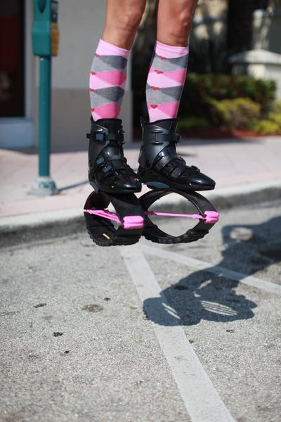 Kangoo Jumps Spring-Loaded Footwear
