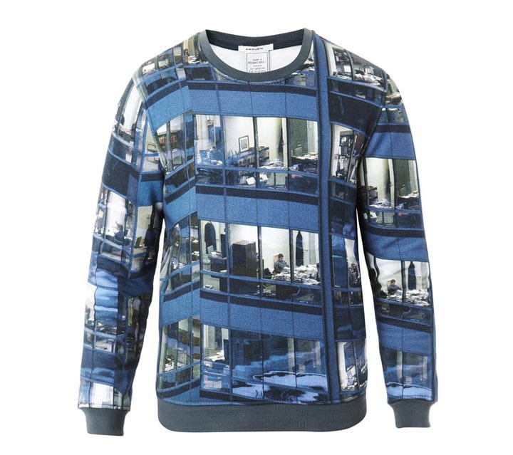 Carven x Michael Wolf Office Cubicle print sweater