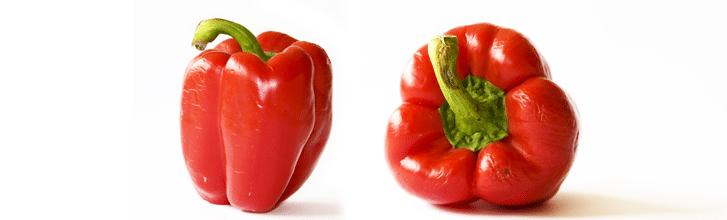 8. Červená paprika