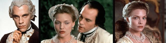 Dangerous Liaisons – Nebezpečné známosti (1988) - film byl oceněn třemi Oscary.