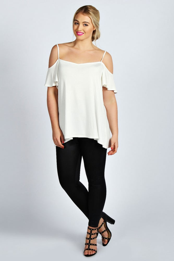 Amy-Frill-SLeeve-Top-BooHoo-Plus