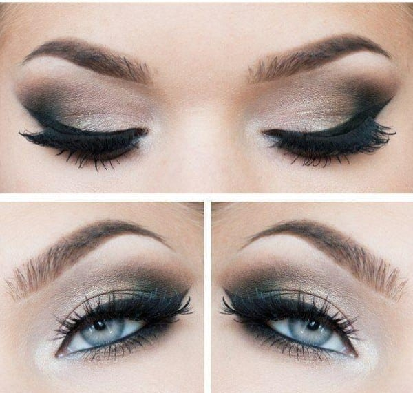 Smokey-eyes-and-Eyeliner-Best-Make-up-for-Blue-eyes