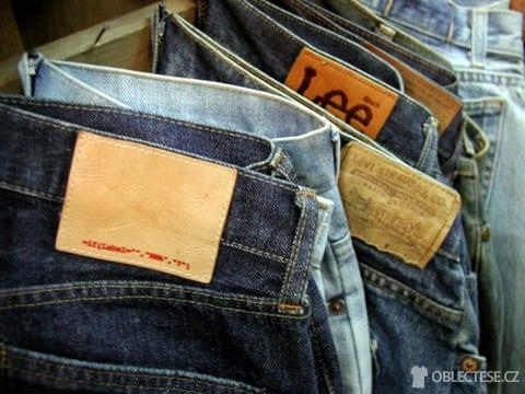 Lee jeans. Zdroj: oblectese.cz