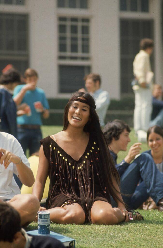 Highschooler In 'Hippy' Fashions