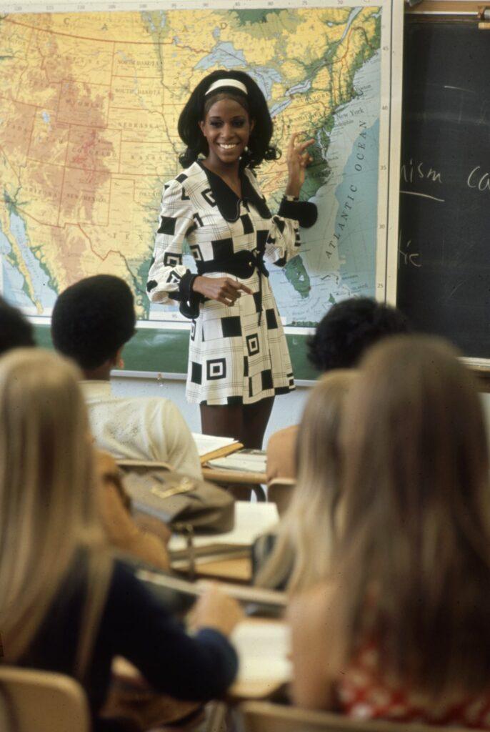 High School Teacher In 'Hippy' Fashion