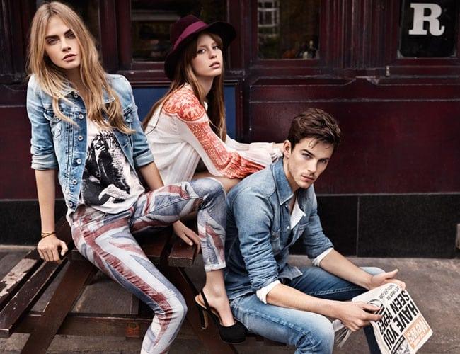 Pepe Jeans London. Zdroj: fashionsophies.blogpot.czs