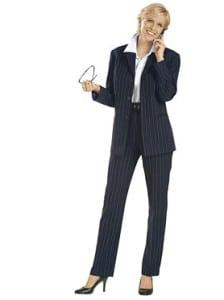 Takhle si většina představuje business woman. Jde to ale i jinak! Zdroj: www.witt-international.cz