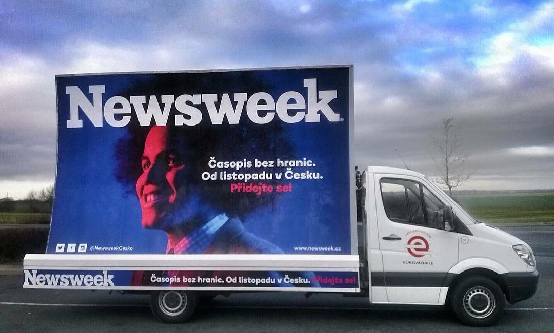 Dominik Feri na obálce časopisu Newsweek