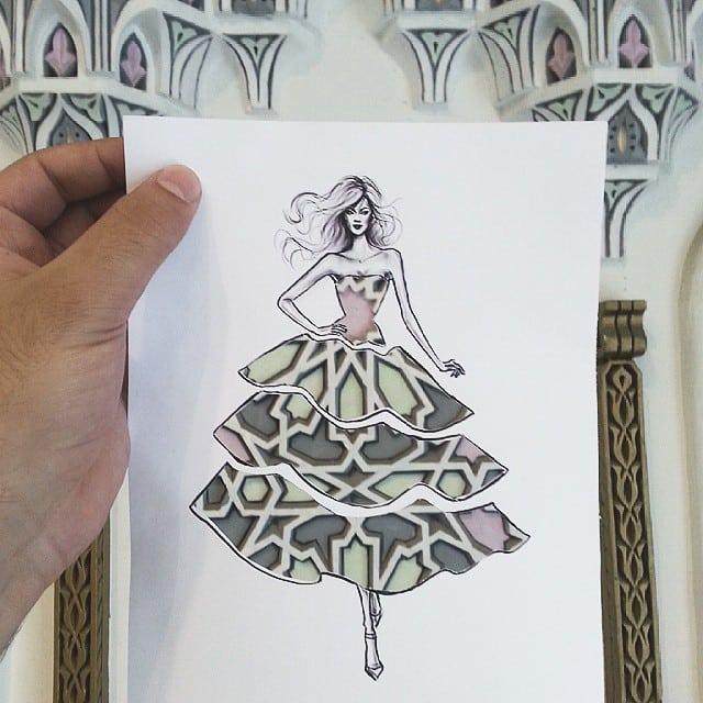 sketch-paper-cutout-art-fashion-design-architecture-shamekh-bluwi-3
