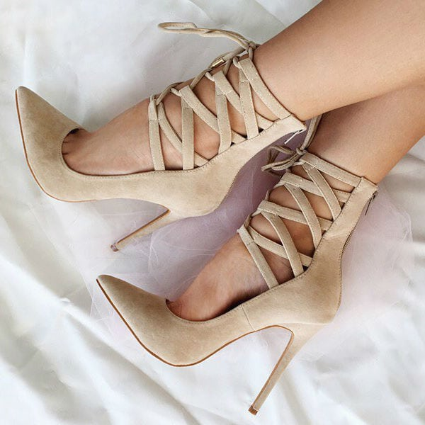 nude-lace-up-high-heels