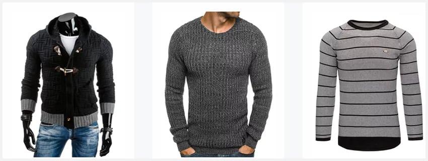 Tip na chladný podzim - pánské svetry 2