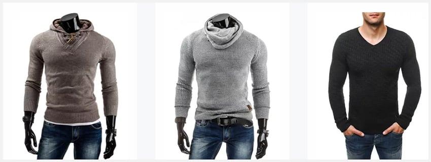 Tip na chladný podzim - pánské svetry 3