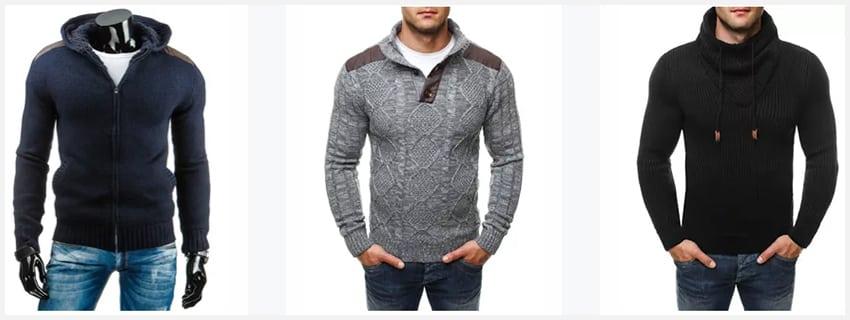 Tip na chladný podzim - pánské svetry 5